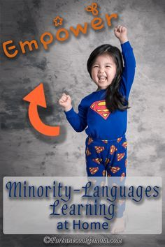If you are raising a bilingual/ multilingual families, here is a perfect blog post for you. http://fortunecookiemom.com/2016/06/4-ways-empower-minority-languages-learning-at-home/