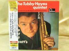 CD/Japan- TUBBY HAYES Late Spot At Scott's w/OBI RARE MINI-LP LIVE Gordon Beck #ModalHardBop