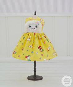 Sweet Petite Needle Felted Lamb Dress for by SweetPetiteShoppe, $39.00