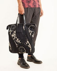 255 Bag in ANT By Dries van Noten