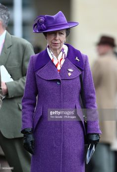 The Princess Royal during Gold Cup Day of the 2018 Cheltenham Festival at Cheltenham Racecourse. (Photo by Tim Goode/PA Images via Getty Images)