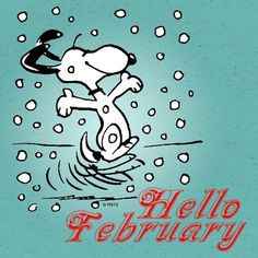 Image result for snoopy february
