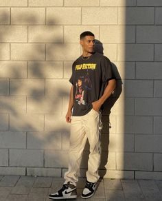 Street Style Outfits Men, Black Men Street Fashion, Stylish Mens Outfits, Mode Streetwear, Streetwear Fashion, Teen Boy Fashion, Men Fashion, Mens Outfitters, Swagg