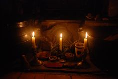 The Hearth - the ancient center of the home and the traditional location for the working shrine and the creation of charms.