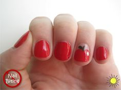 Apple Accent nail