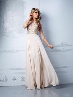 A-line Bateau Sleeveless Chiffon Pearl Pink Prom Dresses/Evening Dress With Beading #FP356