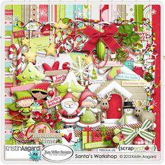 Santa's Workshop by Kristin Aagard and Kay Miller
