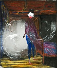 Waldemar Zimbelmann Untitled, 2010 mixed media on canvas 100 x 85 cm