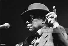 John Lee Hooker, vocal, performs at the North Sea Jazz Festival in the Hague, the Netherlands on 15 July John Lee Hooker, Jazz Festival, Blues Artists, Music Artists, Delta Blues, Boogie Woogie, Argo, Jazz Blues, North Sea
