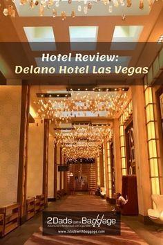 Delano Hotel Las Vegas is one of the best non-casino hotels in Las Vegas