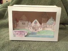 Lost Japanese art of Tatebanko - make a castle diorama....