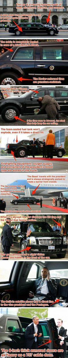 The president's car.