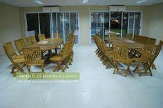 Mesas Ovaladas Extensibles de madera