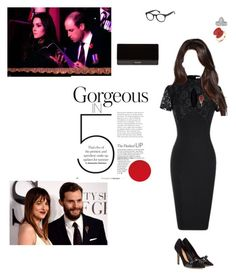 Festival of Remembrance at the Royal Albert Hall by lady-caroline-havisham on Polyvore featuring polyvore fashion style Isabel Marant Balmain Neil Lane Mark Broumand clothing chic classy Elegant London PrinceWilliam