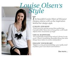 Louise Olsen's Style | Featured on sharedesign.com.