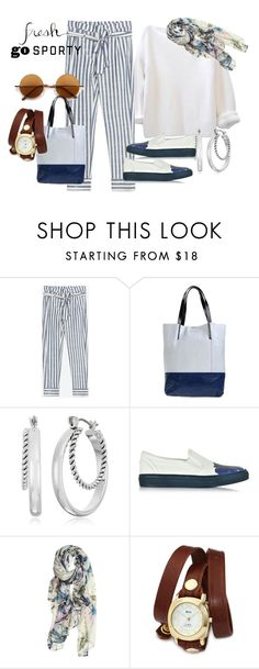 """""""Stripes"""" by tanyakountz ❤ liked on Polyvore featuring Retrò, Diesel, Napier, Dsquared2, Elizabeth Gillett and La Mer"""