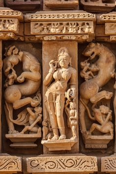 Adinath Jain Temple . Khajuraho, Madhya Pradesh