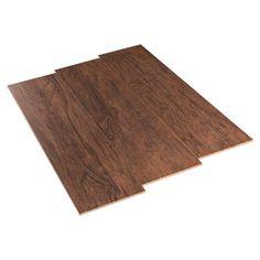 Woodhurst Amber Wood Plank Porcelain Tile Basement
