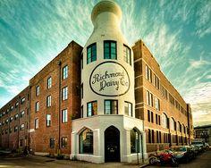 Richmond Dairy, aka; The Milk Bottle Building now a condo/development