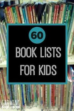Over 60 book lists f