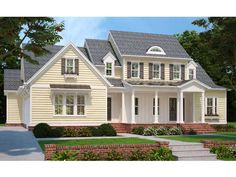086H-0012: Two-Story Luxury House Plan