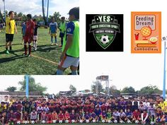 Feeding Dreams Cambodia's Y.E.S Football Academy program has reached WeAreFootball.com.kh website !!!!! Incredible work Blaed on all your efforts - currently 160 youths in training, underprivileged, and receiving guidance for free from professionals and role models. http://feedingdreamscambodia.org/youth-education-sport.php