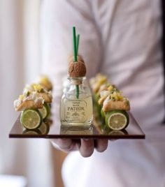 Your Signature Cocktails Style Guide | Mini Margaritas & Tapas #weddingideas #partyideas Cigars And Whiskey, Whiskey Drinks, Wedding Trends, Wedding Tips, Trendy Wedding, Wedding Stuff, Wedding Reception Food, Appetizer Recipes, Appetizers
