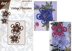 Joy! Crafts Dies - Vintage Flourishes - Flower 2 $5.95