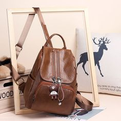 Element:RetroCapacity:Can hold IpadInternal Structure:Hidden zipper pocket/Mobile phone pocket Cat Backpack, Computer Backpack, Canvas Backpack, Travel Backpack, Leather Backpack, Fashion Backpack, High School Bags, Cute School Bags, Boys Backpacks
