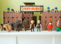 Playmobile - I still have this set from when I was a child.