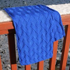 Free Knitting Pattern: Basket Weave scarf
