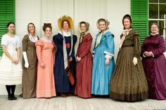 U.S. clothing styles from the 1800s