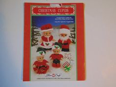 Christmas Cupids Crochet festive outfits by TrinasCraftPatterns