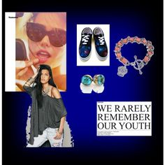 Randomness by unicornslifeever on Polyvore featuring Vans and Juicy Couture