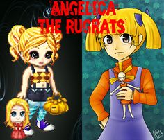 Angelica The Rugrats.