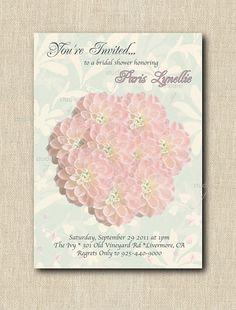 Bridal Shower Invitation PRINTABLE by StudioGStationery on Etsy, $15.00