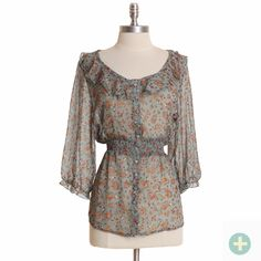Picture this with a cute pair of light wash skinny jeans and cowgirl boots...
