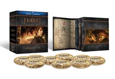 The Hobbit Extended Edition Trilogy giftset is the same packaging as the LOTR Extended Edition on Blu-ray. Available Nov. 17.