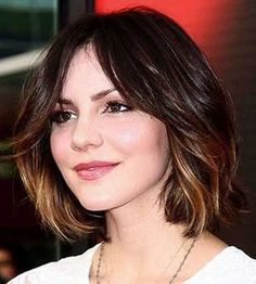 Love the color being at the end! 2013 Short Haircut for Women
