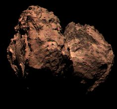 The first True Image of Comet 67P color obtained by Rosetta probe