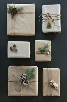best photo presents wrapping ideas twine popular work : Christmas is actually here which means it is equally gift giving time. Out of expensive and speedy present wrapping ideas for you to 8 beautiful Chris. Christmas Gift Wrapping, Diy Christmas Gifts, Rustic Christmas, All Things Christmas, Winter Christmas, Modern Christmas, Christmas Ideas, Scandinavian Christmas Decorations, Christmas Jokes