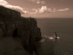 Cliffs of Moher with Maleficant