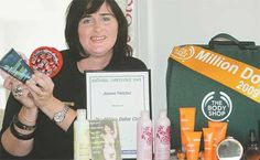 Joanne Fletcher from the Body Shop at Home has made the Million Dollar Club. A woman I will admire forever!