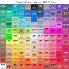 Jenny's collection of Crayola crayons, markers, colored pencils and other art supplies. She has one of the largest galleries of products online.