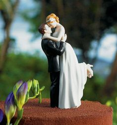 Romance Couple Bride and Groom Wedding Cake Toppers | eBay