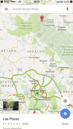Las Pozas in Mexico