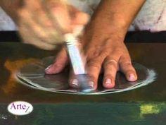 ▶ Técnica de pintura a pincel seco - YouTube