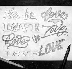 A whole lotta love from @typo_steve for today's #GoodtypeTuesday