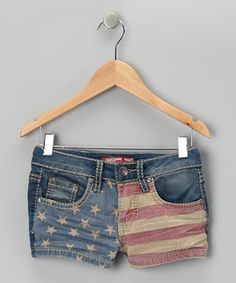 This pair puts fashion first by sporting faded stars and stripes. Thanks to a bit of stretch sewn in, function follows right behind.
