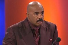 """21 Hilarious Times Steve Harvey Lost Faith In Humanity On """"Family Feud"""" buzzfeed.com"""